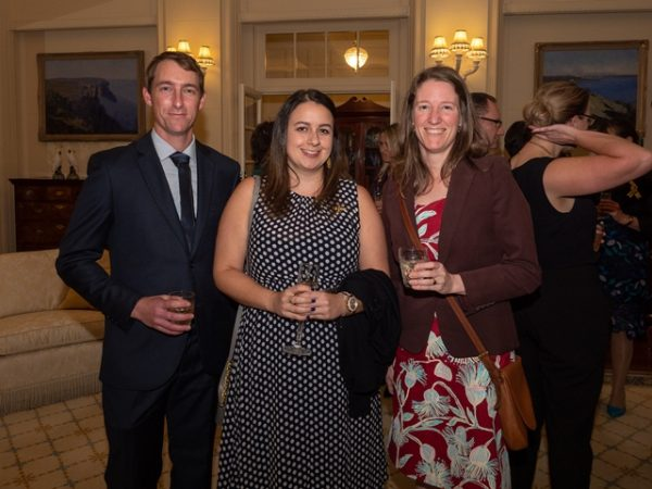 Dr John Roberts (CSIRO). Ashley Zamek (Hort Innovation), Elizabeth Frost (NSW DPI) ©Lyndal Curtis