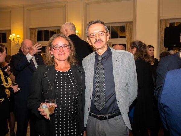 Dr Romina Rader (UNE), Prof. Ryszard Maleszka (ANU) ©Lyndal Curtis