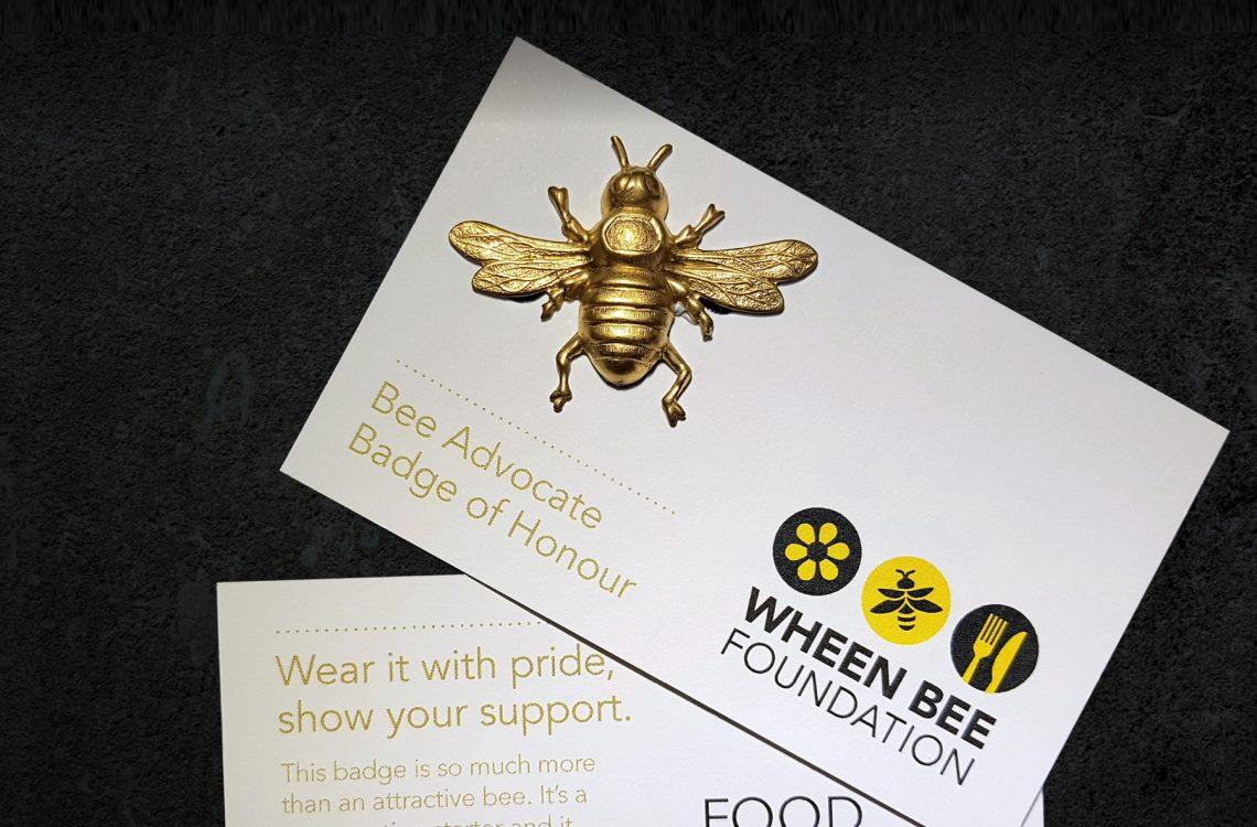 WBF002 News Events Bee Badge